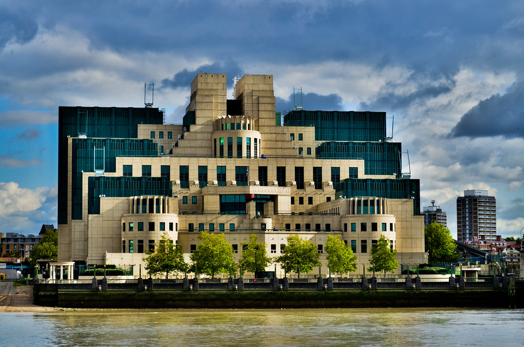 MI6 Building London
